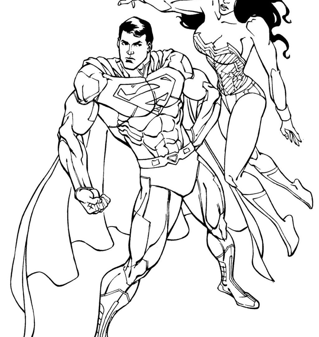 1024x1080 Wonder Woman Coloring Pages Best For Page General Free To Color