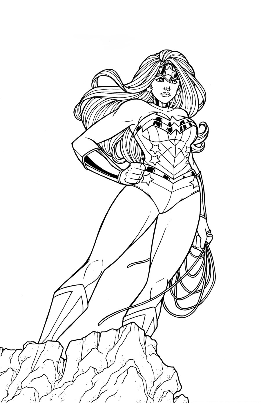 900x1391 Wonder Woman Coloring Pages To Download And Print For Free