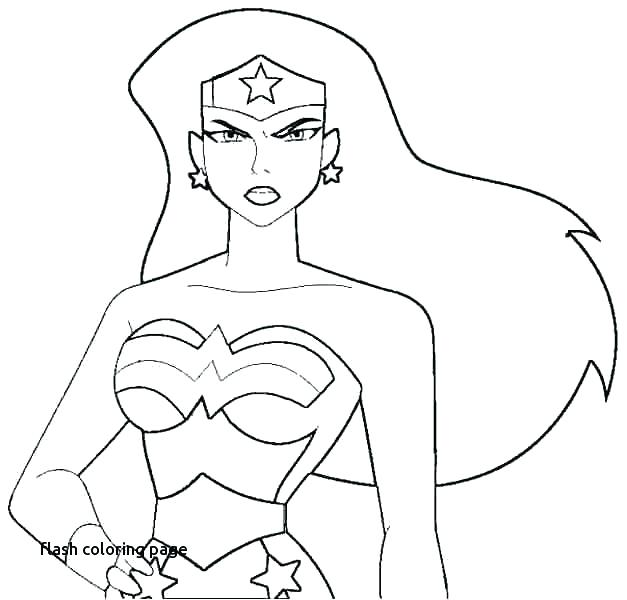627x600 Wonderwoman Coloring Pages Flash Coloring Pages Wonder Woman