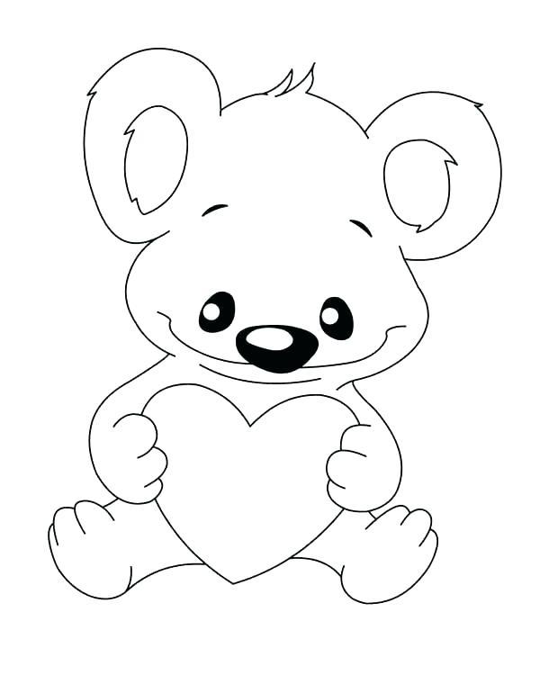 600x750 Koala Bear Coloring Page Wombat Coloring Page Koalas Pages Free