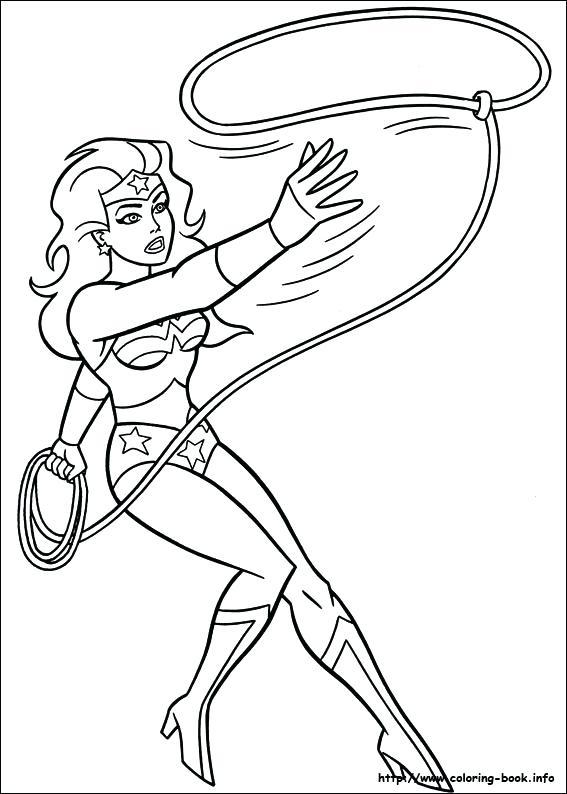567x794 Wonderwoman Coloring Pages Wonder Woman Face Coloring Pages