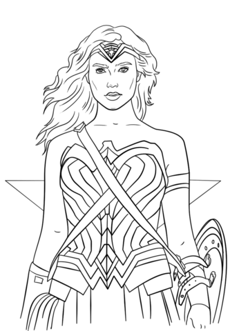 333x480 Portrait Coloring Page