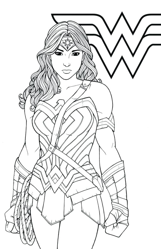 663x1024 Wonder Woman Coloring Pages Best Coloring Pages For Kids Free