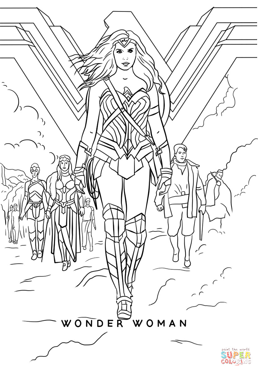 824x1186 Coloring Dc Wonder Woman Inside Wonderwoman Coloring Pages