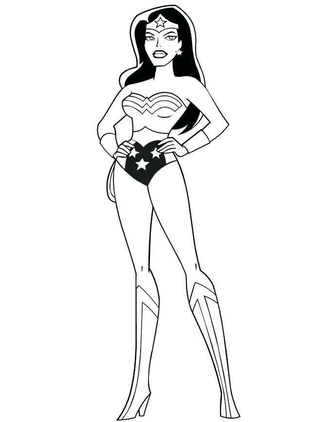 670x867 Wonder Woman Color Pages Wonder Woman Coloring Pages Best