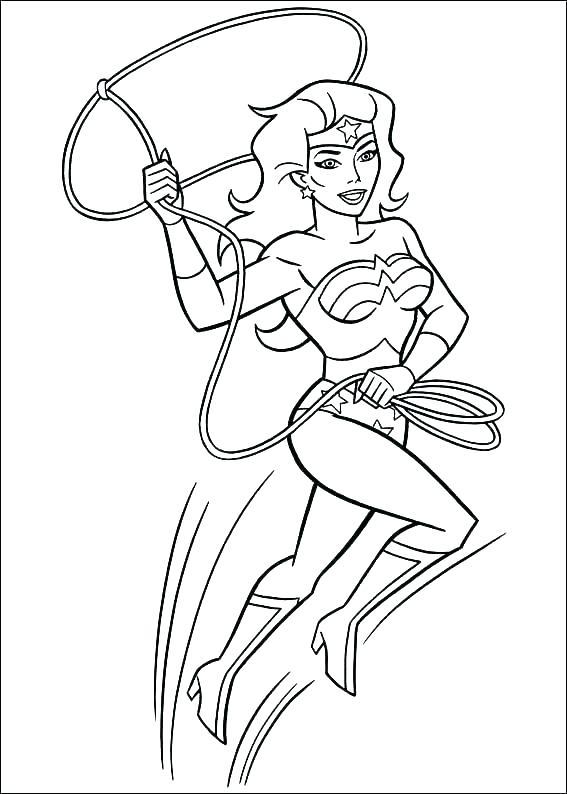 567x794 Free Printable Wonder Woman Symbol Wonder Woman Printable Coloring