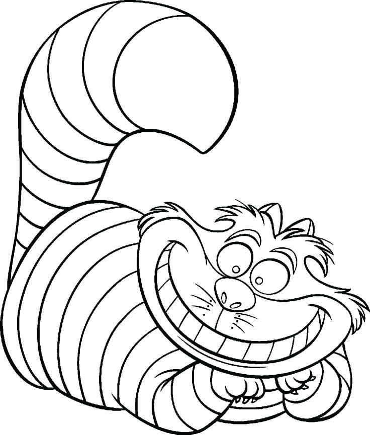 736x865 Alice In Wonderland Coloring Pages Inspiring Ideas In Wonderland