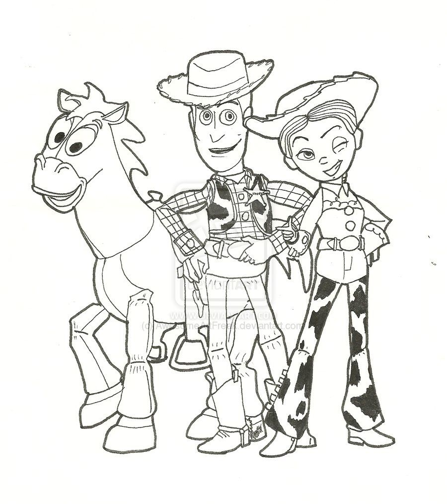 Woody Toy Story Drawing At Getdrawings Com Free For Personal Use