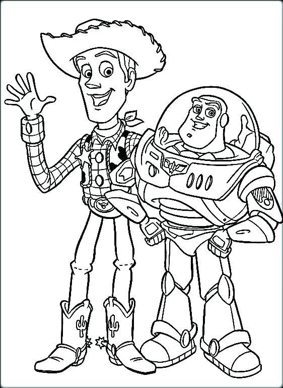 562x769 Coloring Pages Of Toy Story Coloring Pages Toy Story Toy Story