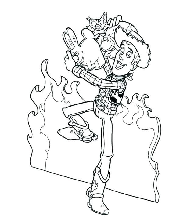600x714 Woody Coloring Page Toy Story Coloring Pages Woody Coloring Page