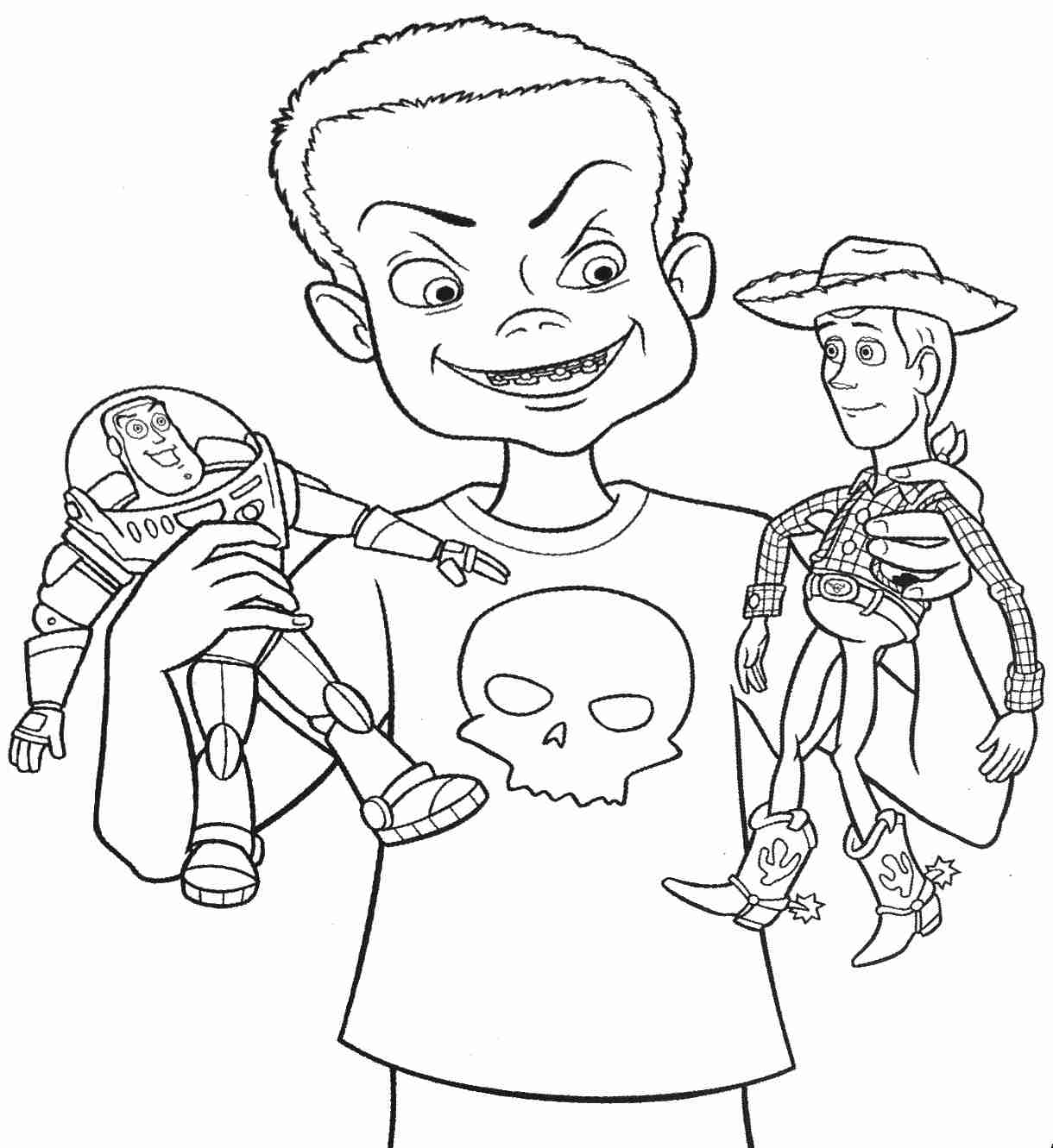 1220x1331 Buzz Lightyear Toy Story Coloring Pages Free For Kids Unusual
