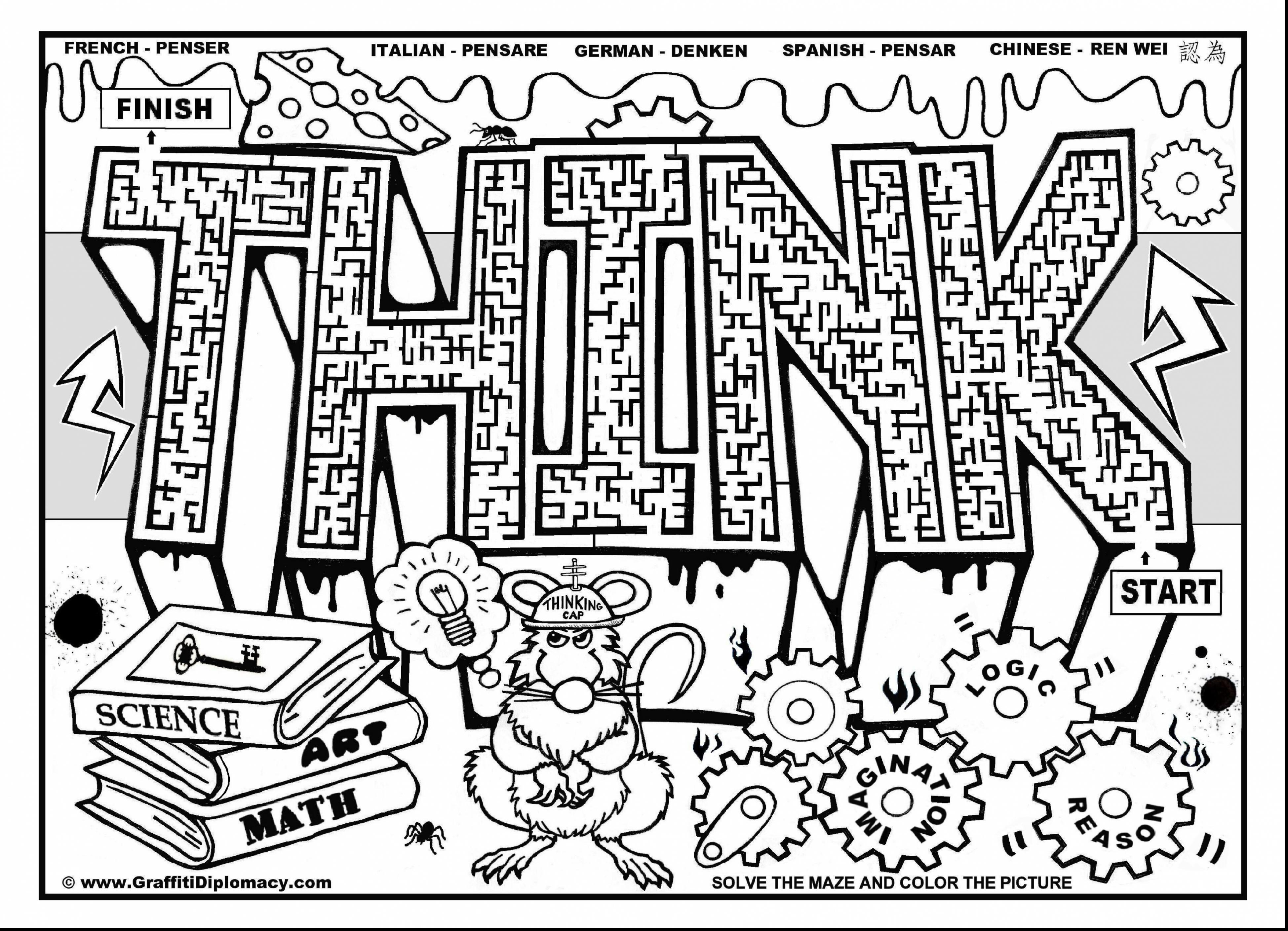 3897x2818 Sight Word Coloring Pages