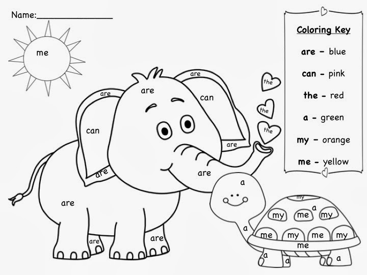 720x540 Sight Word Coloring Pages To Print Sight Word Coloring Pages
