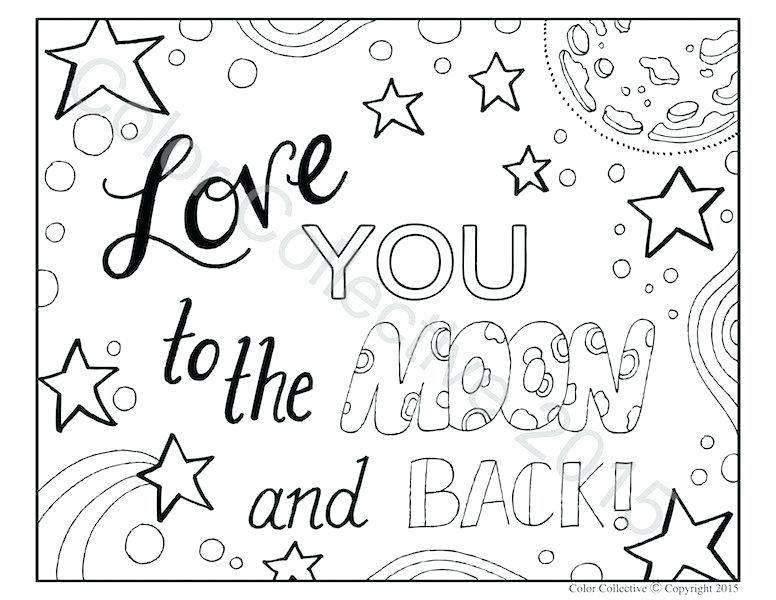 Word Coloring Pages For Kids At Getdrawings Free
