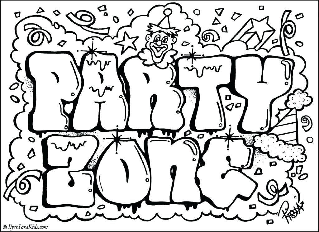 1024x745 Word Coloring Pages Word Coloring Pages Party Word Coloring Pages