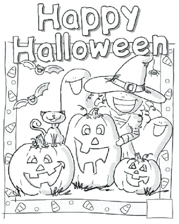584x730 Halloween Printable Coloring Pages Or Word Search Printable