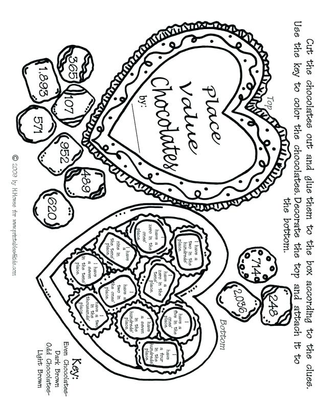 618x789 Halloween Word Search Coloring Page Valentine Math Place Values