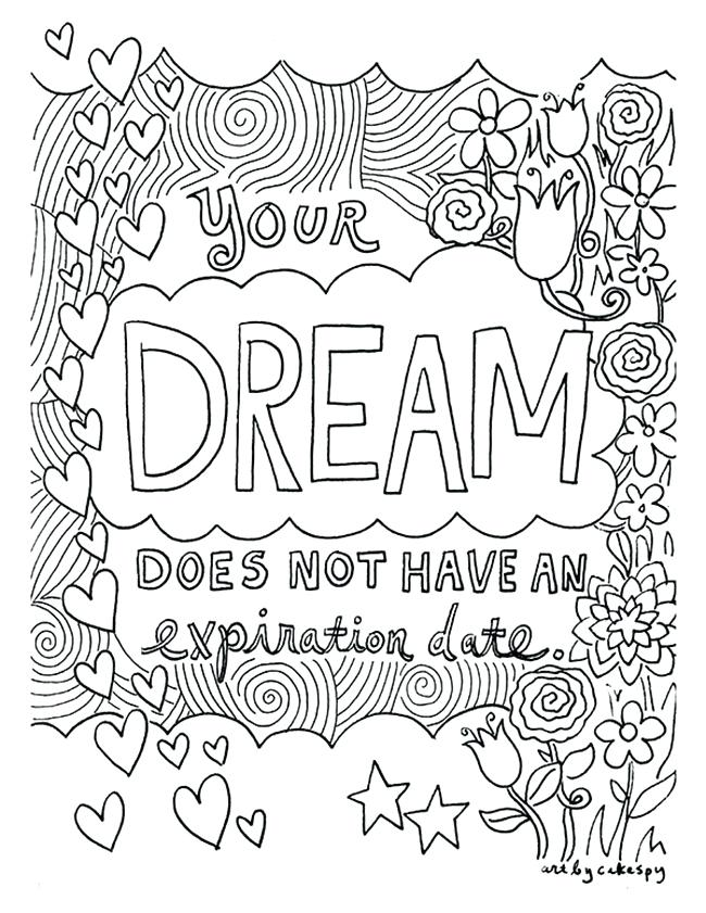 650x841 Word Coloring Pages Inspiring Quote Coloring Pages For Adults