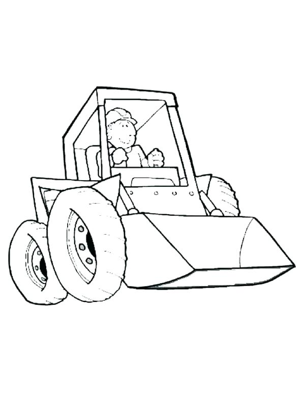 600x776 Construction Truck Coloring Pages Wrecking Ball Tractor