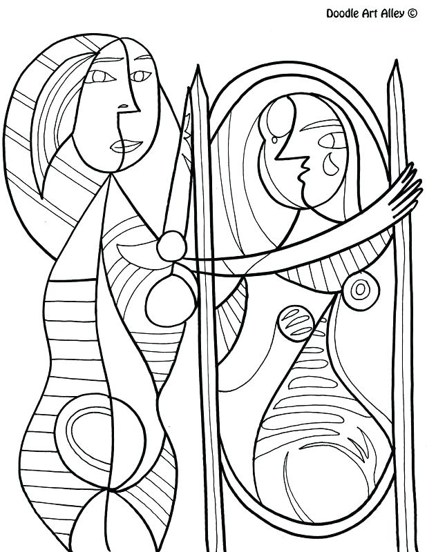 618x800 Famous Artists Coloring Pages Famous Art Work Coloring Pages