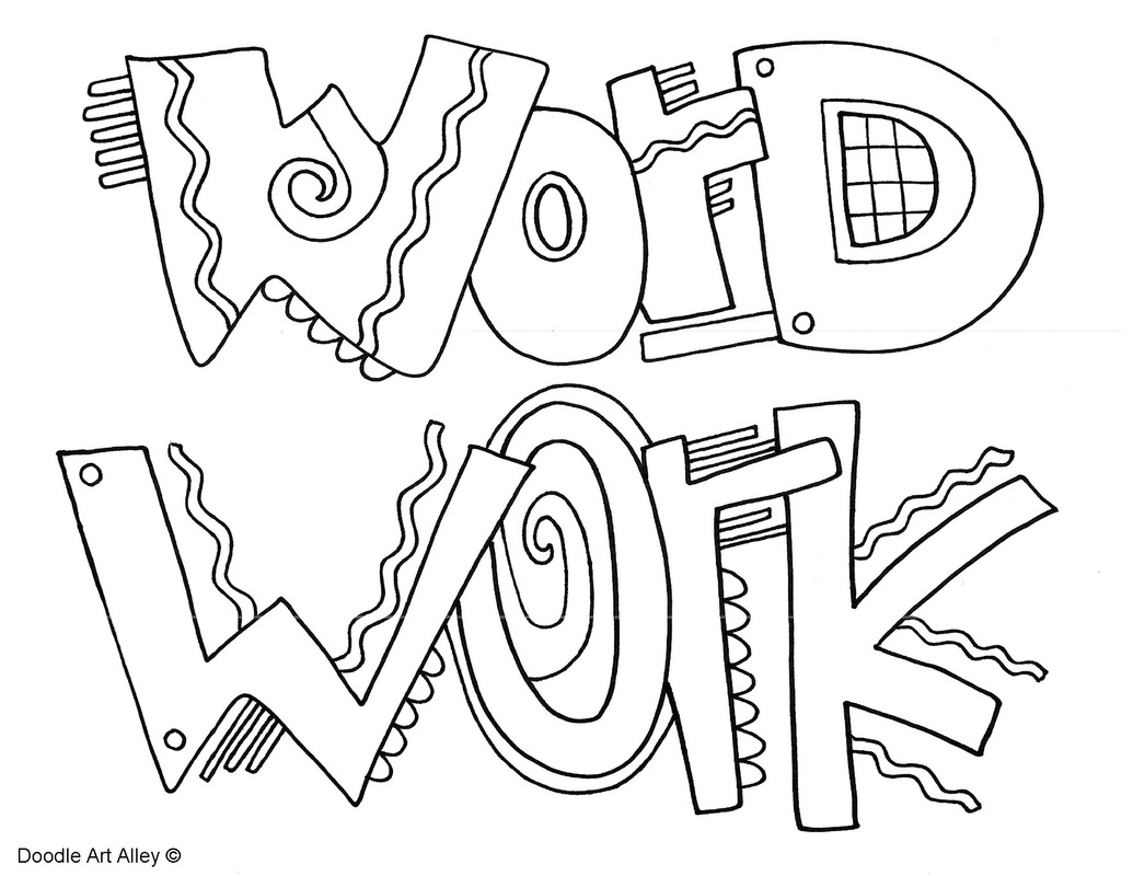 1035x800 The Daily Five Coloring Pages