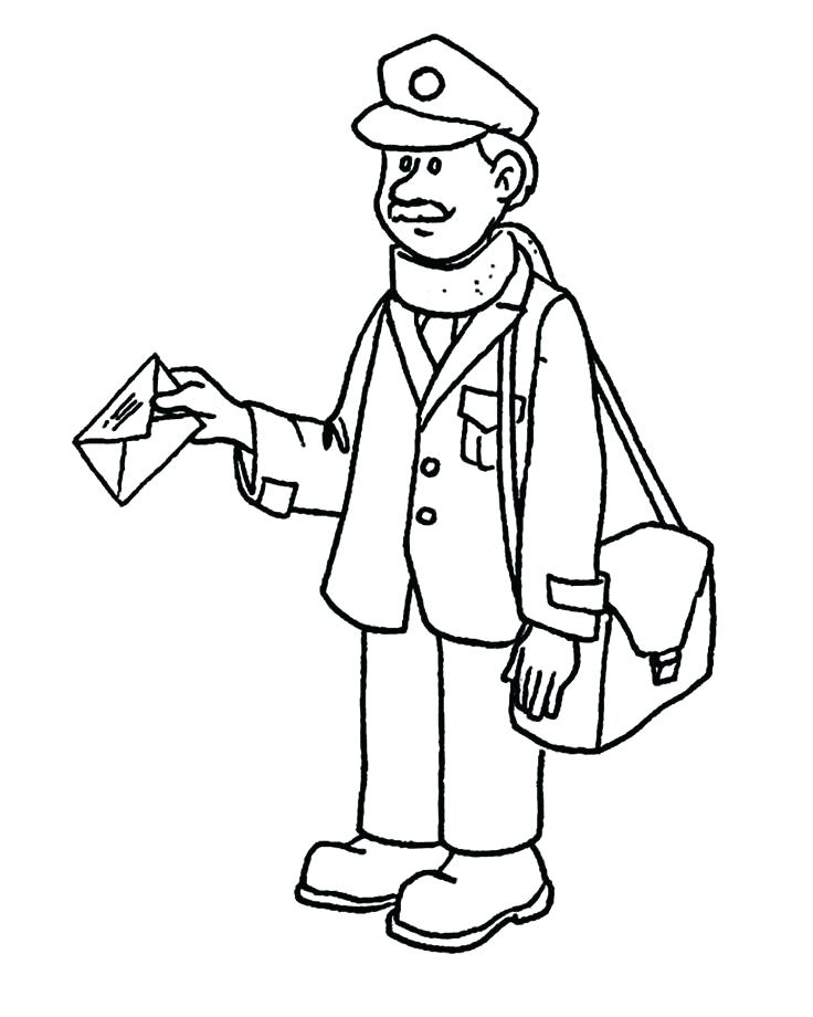 736x920 Community Helpers Coloring Pages Community Workers Coloring Pages