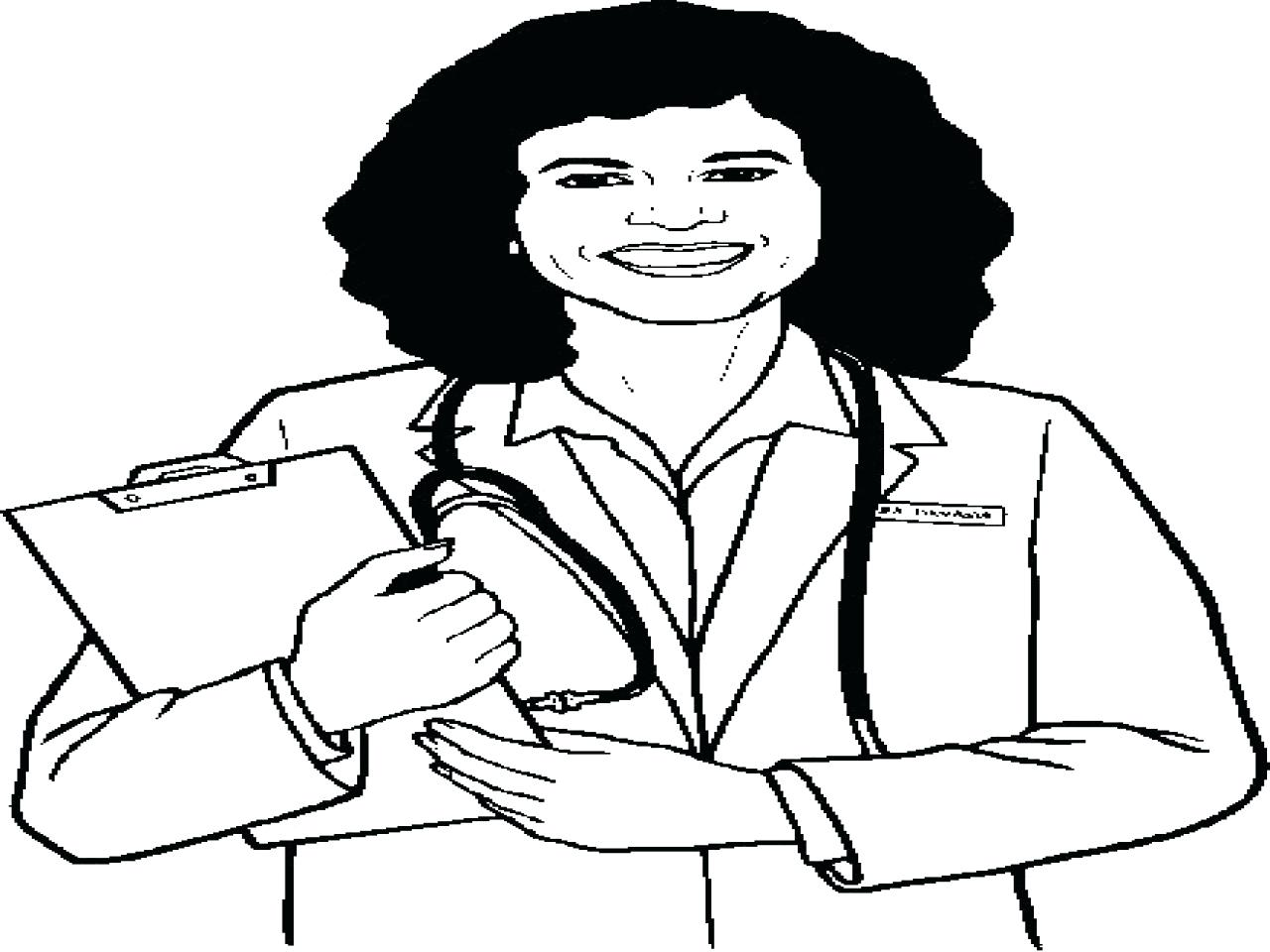 1280x960 Nurse Coloring Pages Print N For Page Free Draw To Color