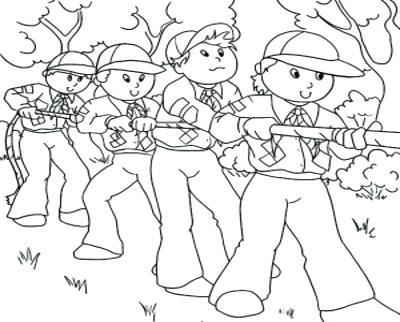 400x322 Boy Scout Coloring Pages Coloring Trend Thumbnail Size Boy Scout