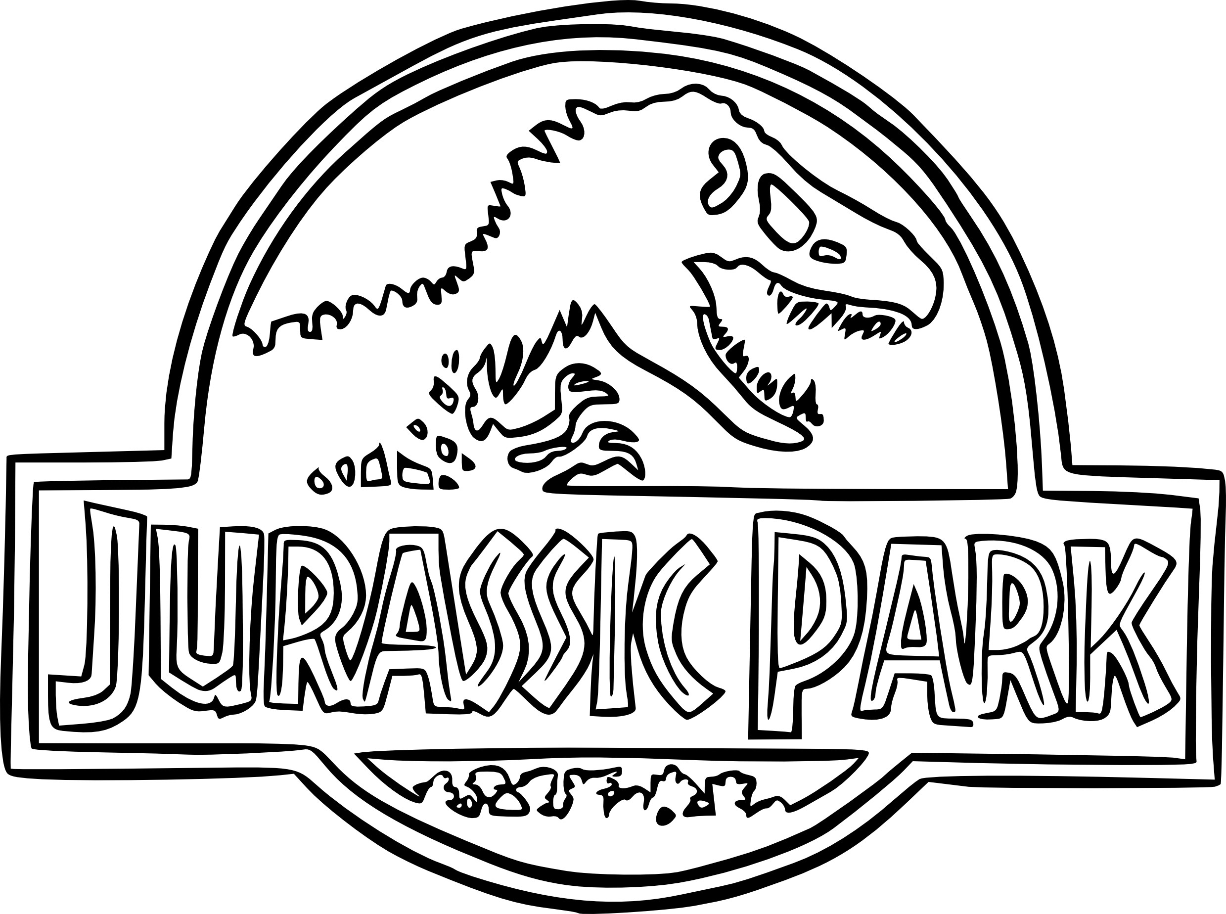 Free Jurassic World Coloring Pages At Getdrawings Com Free For