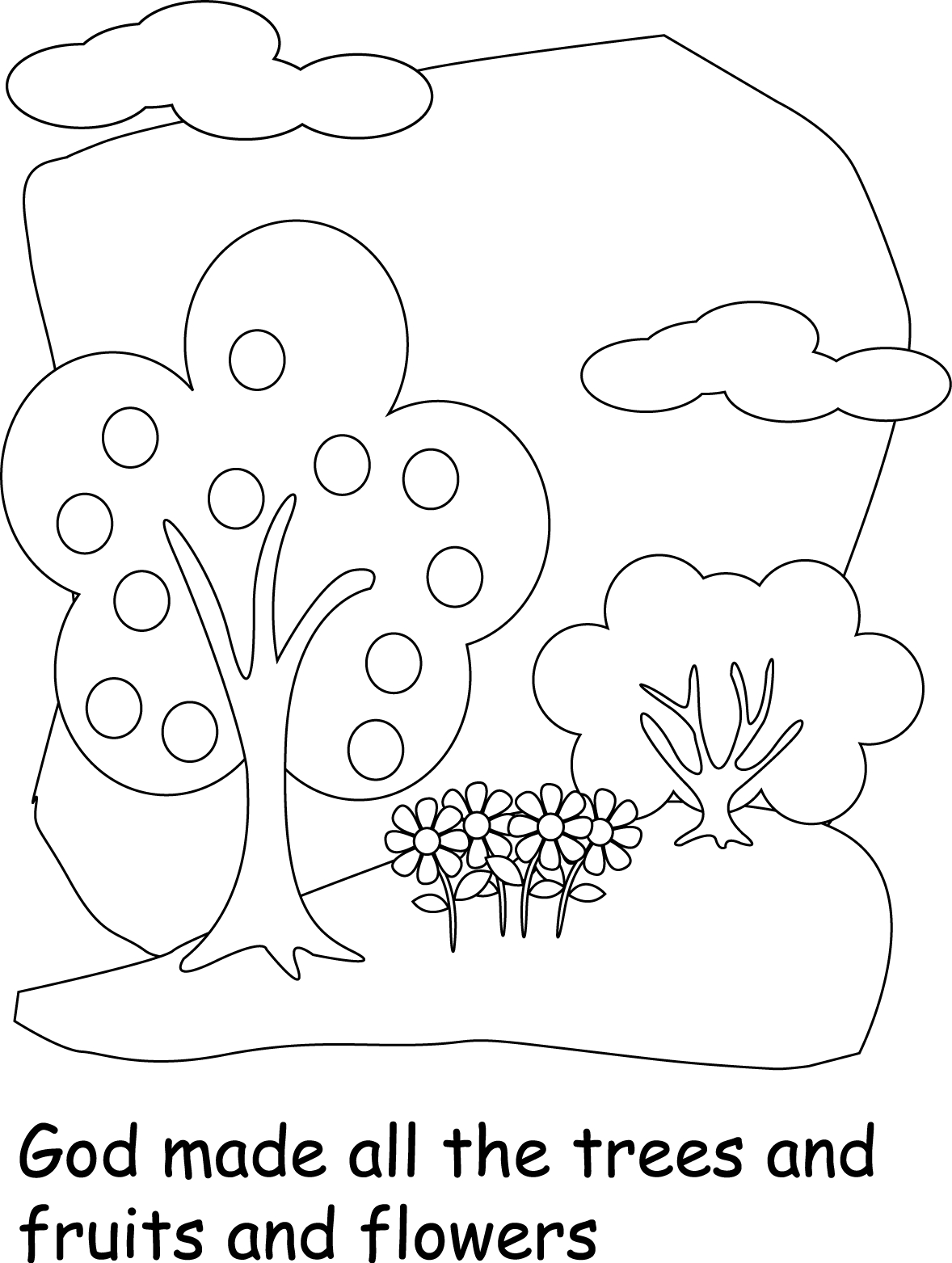 World Coloring Pages For Kids
