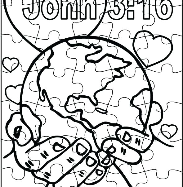 World Coloring Pages Printable