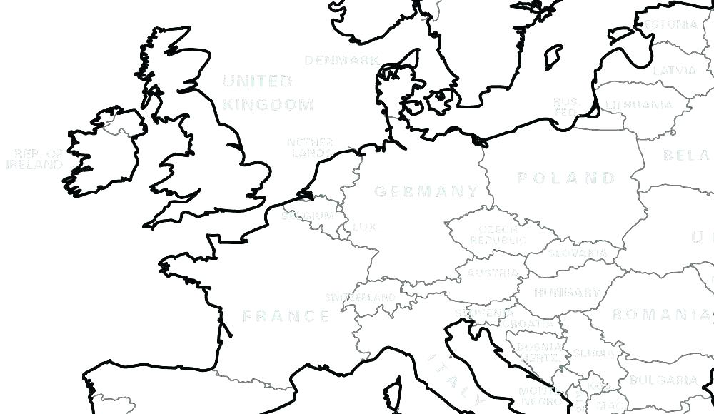 1000x580 World Map Coloring Pages Printable Map Coloring Pages Coloring Map