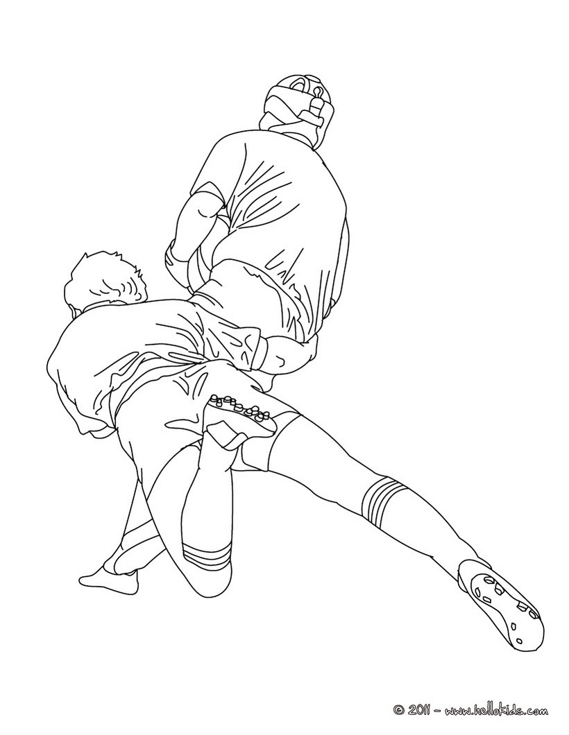 820x1060 Rugby World Cup Coloring Pages