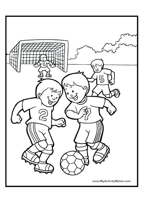 460x650 Soccer Coloring Page Coloring Pages Soccer Team Coloring Pages