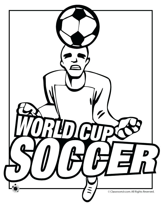 680x880 Coloring Pages Of Soccer World Cup Soccer Coloring Pages Coloring