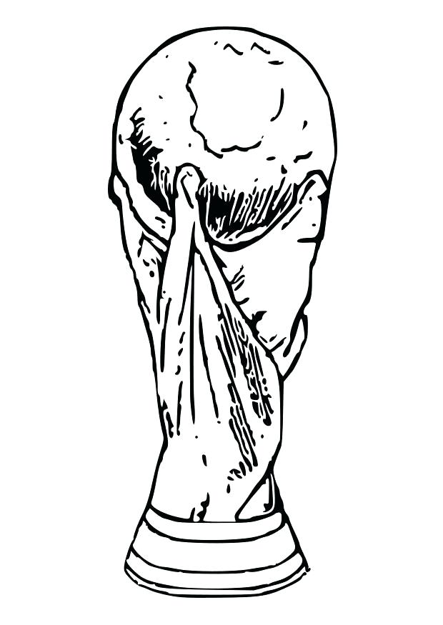620x875 Soccer Coloring Pages Soccer Coloring Pages World Cup Trophy