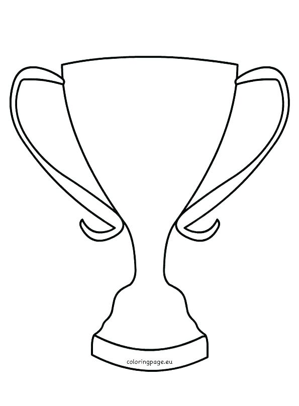 595x808 Cup Coloring Pages