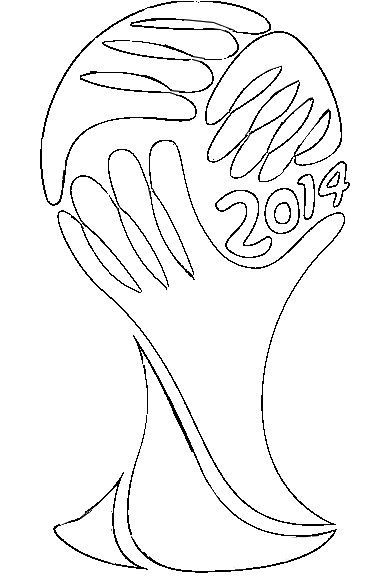 382x584 Fifa World Cup Logo Soccer World Cup Coloring Pages