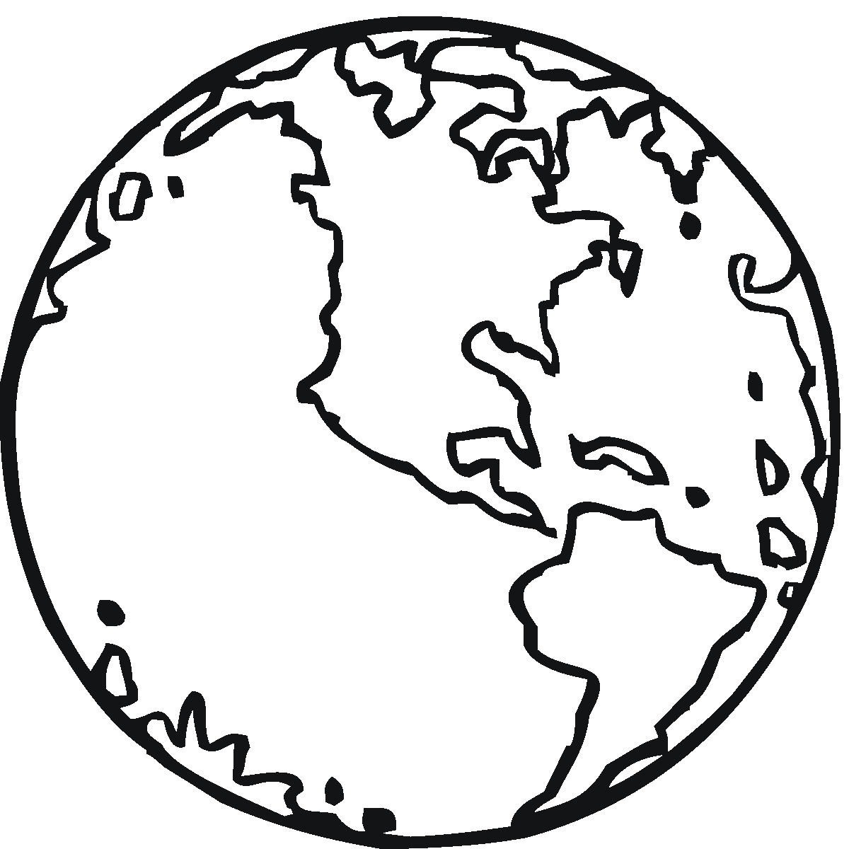 1200x1200 Free Printable Earth Coloring Pages For Kids