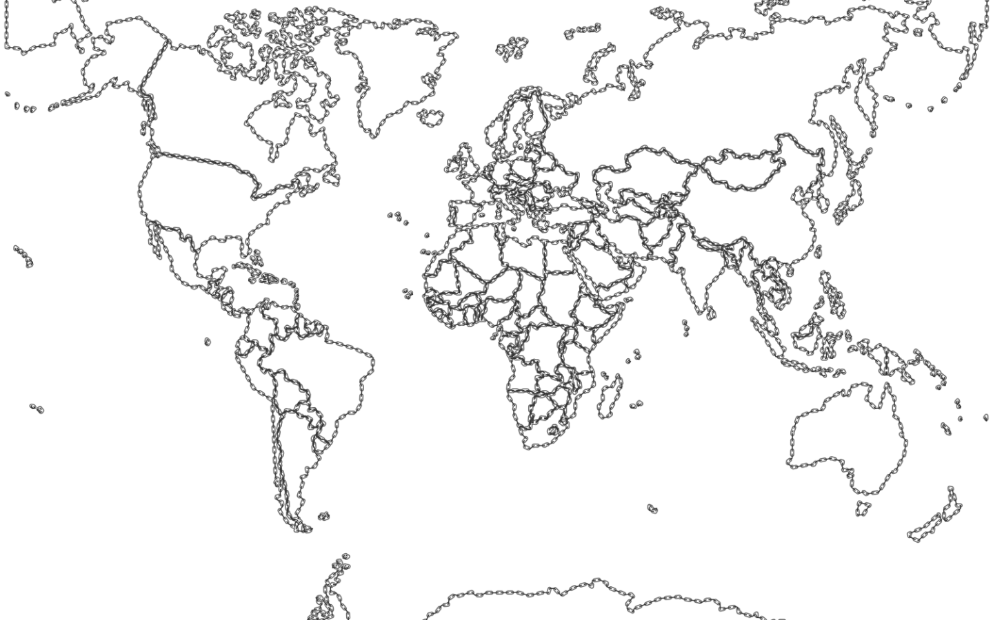 World Map Coloring Page For Kids at GetDrawings.com | Free ...