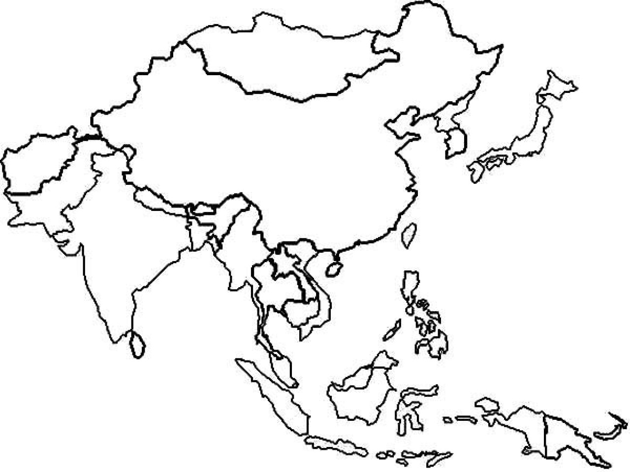 1280x960 Free Printable World Map Coloring Pages For Kids Best