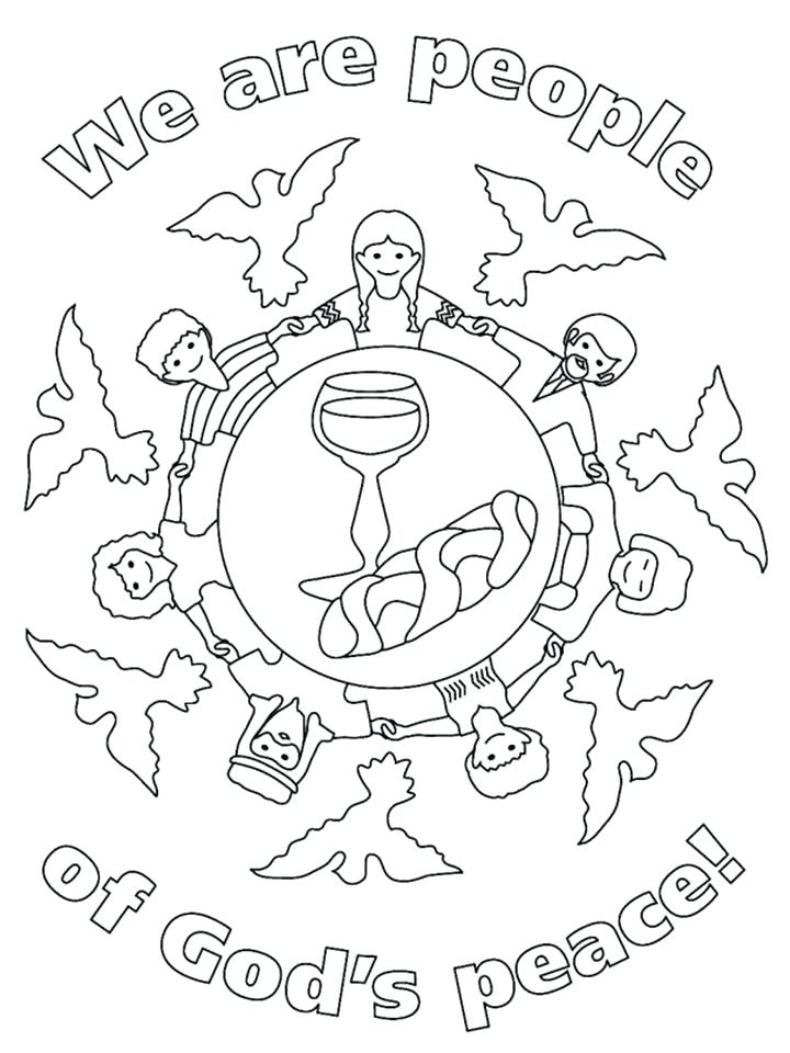 720x960 Peace Coloring Page Peace Coloring Pages For Adults