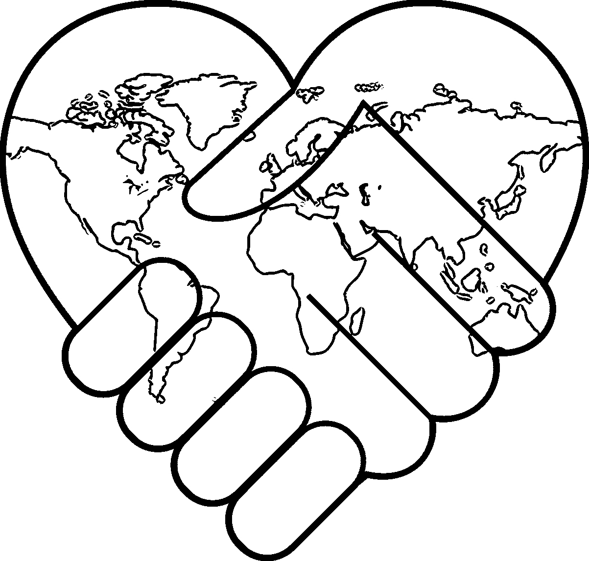 1203x1146 Peace Coloring Pages Fresh World Peace Coloring Pages Az Coloring