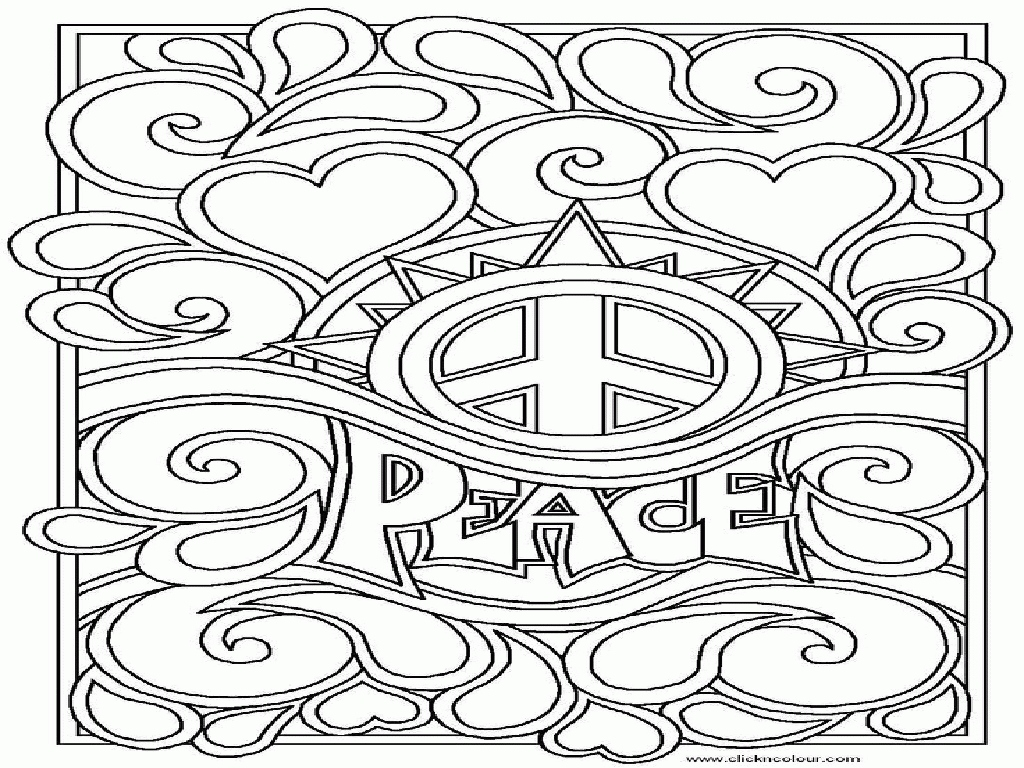 1024x768 Peace Coloring Pages Luxury World Peace Coloring Pages Az Coloring