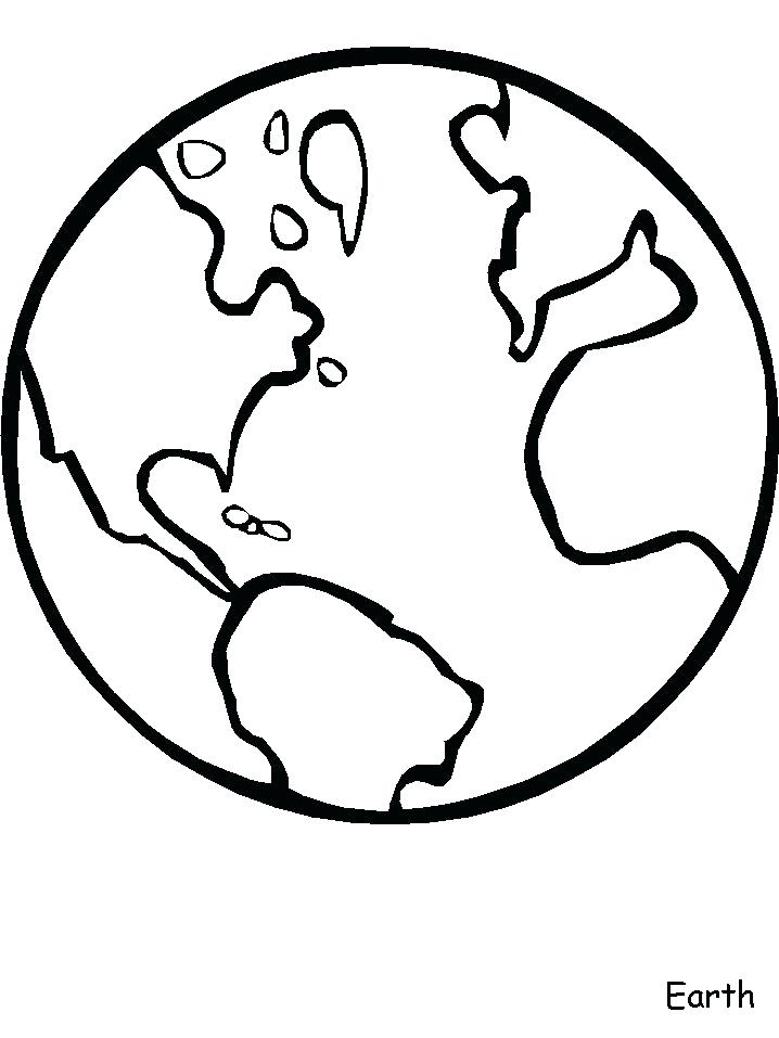 718x957 World Coloring Page The World Coloring Pages Drawn Earth Color