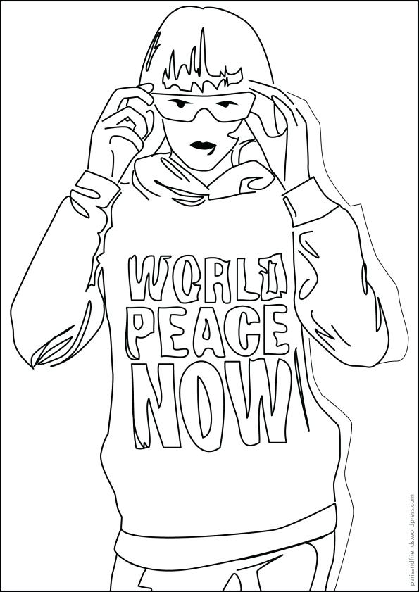 595x841 Coloring Pages Of The Word Peace Devon Creamteas
