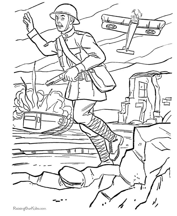 World War 1 Drawing at GetDrawings.com | Free for personal use World ...