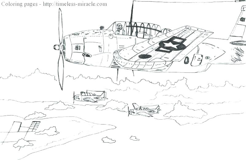 800x519 World War Coloring Pages World War Planes Coloring Pages World