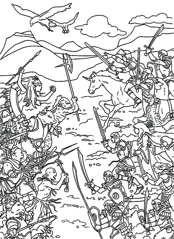 600x824 Coloring Pages Fortress World War Two Colouring Pages