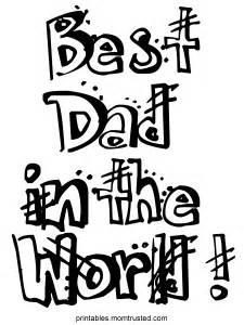 225x300 Worlds Best Daddy Coloring Pages Of Parents Day, Worlds Best Dad